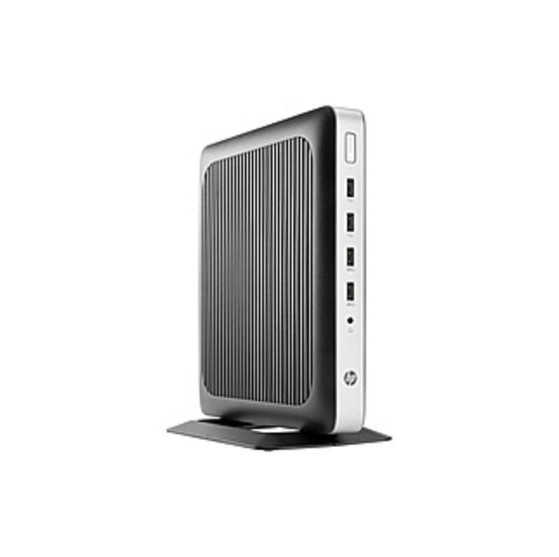 HP t630 Tower Thin Client - AMD G-Series Quad-core (4 Core) 2 GHz - 4 GB RAM DDR4 SDRAM - 16 GB Flash - AMD Radeon R6E Graphics (512 MB - Gigabit Ethe