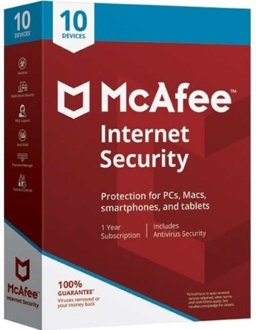 1 Year Internet Security Software - 10 Devices