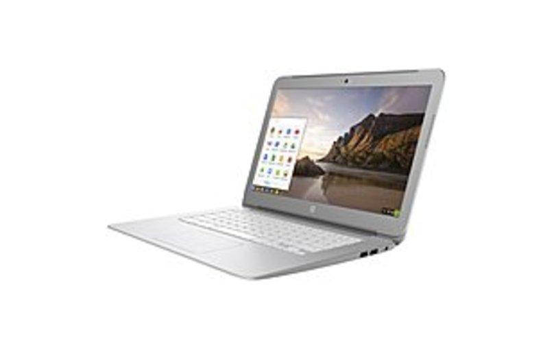 "HP Chromebook 14-ak000 14-ak040nr 14"" Chromebook - Intel Celeron N2840 Dual-core (2 Core) 2.16 GHz - 4 GB - 16 GB Flash Memory - Chrome OS - 1366 x 76"