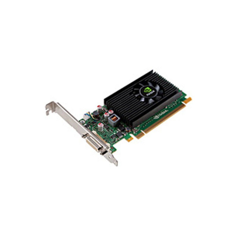 PNY Quadro NVS 315 Graphic Card - 1 GB DDR3 SDRAM - Low-profile - Single Slot Space Required - 64 bit Bus Width - 2560 x 1600 - Fan Cooler - DirectX 1