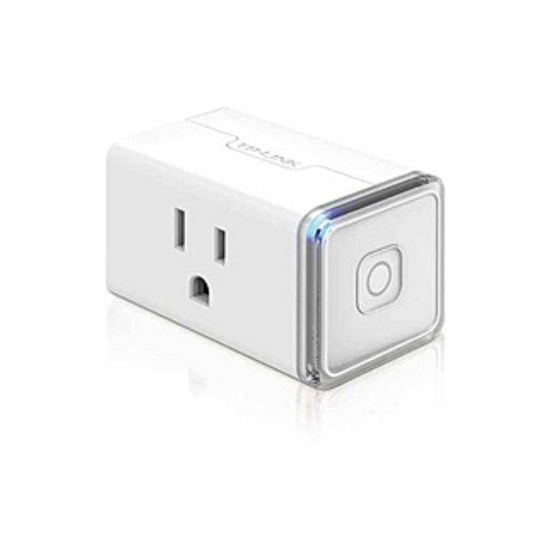 TP-LINK Smart Wi-Fi Plug Mini - AC Power - 120 V AC / 15 A - Alexa Supported