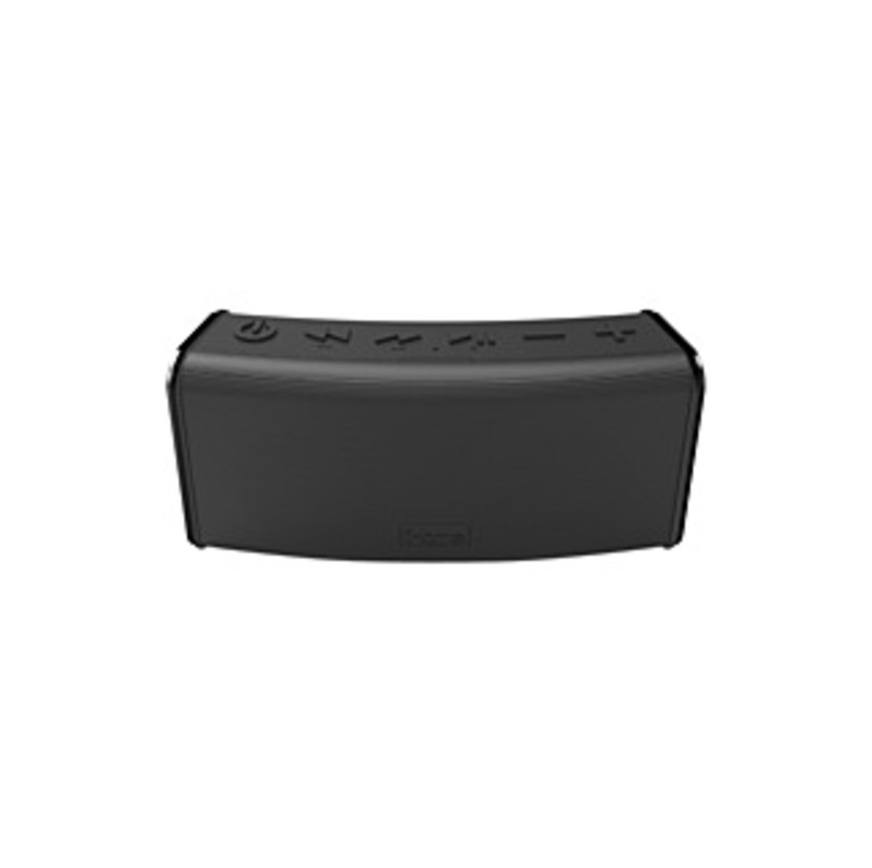 iHome iBT33 Speaker System - Wireless Speaker(s) - Portable - Battery Rechargeable - Black - Bluetooth - USB - Wireless Audio Stream, Microphone, Echo