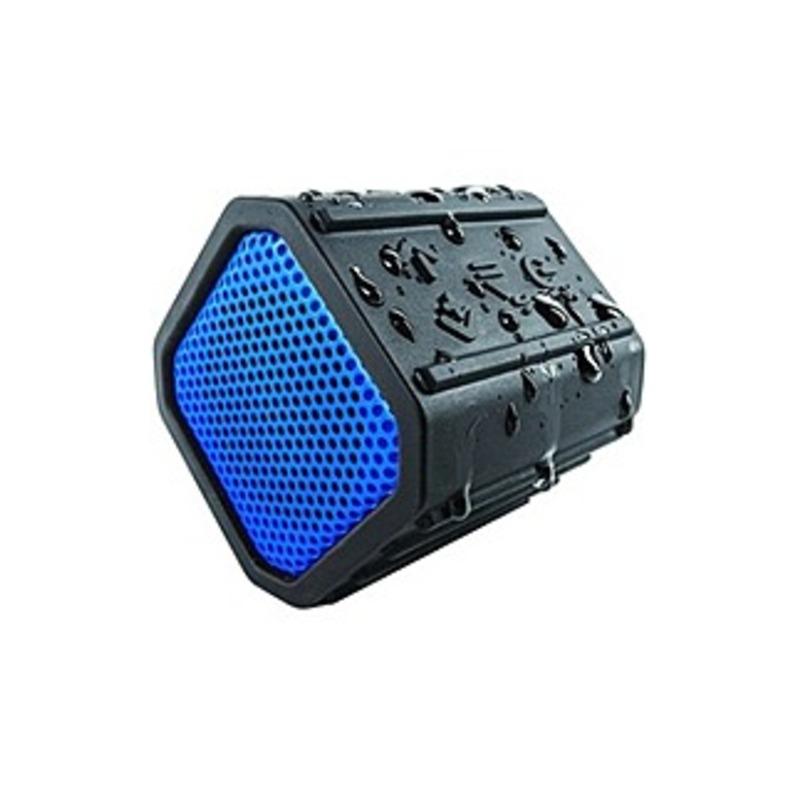 ECOXGEAR ECOPEBBLE GDI-EGPB102 Speaker System - Wireless Speaker(s) - Portable - Battery Rechargeable - Blue - 32.8 ft - Bluetooth - USB