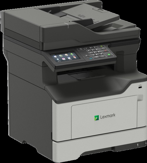 Lexmark MX420 MX421ade Laser Multifunction Printer - Monochrome - Plain Paper Print - Desktop - Copier/Fax/Printer/Scanner - 42 ppm Mono Print - 1200 (36S0700_C2 36S0700) photo