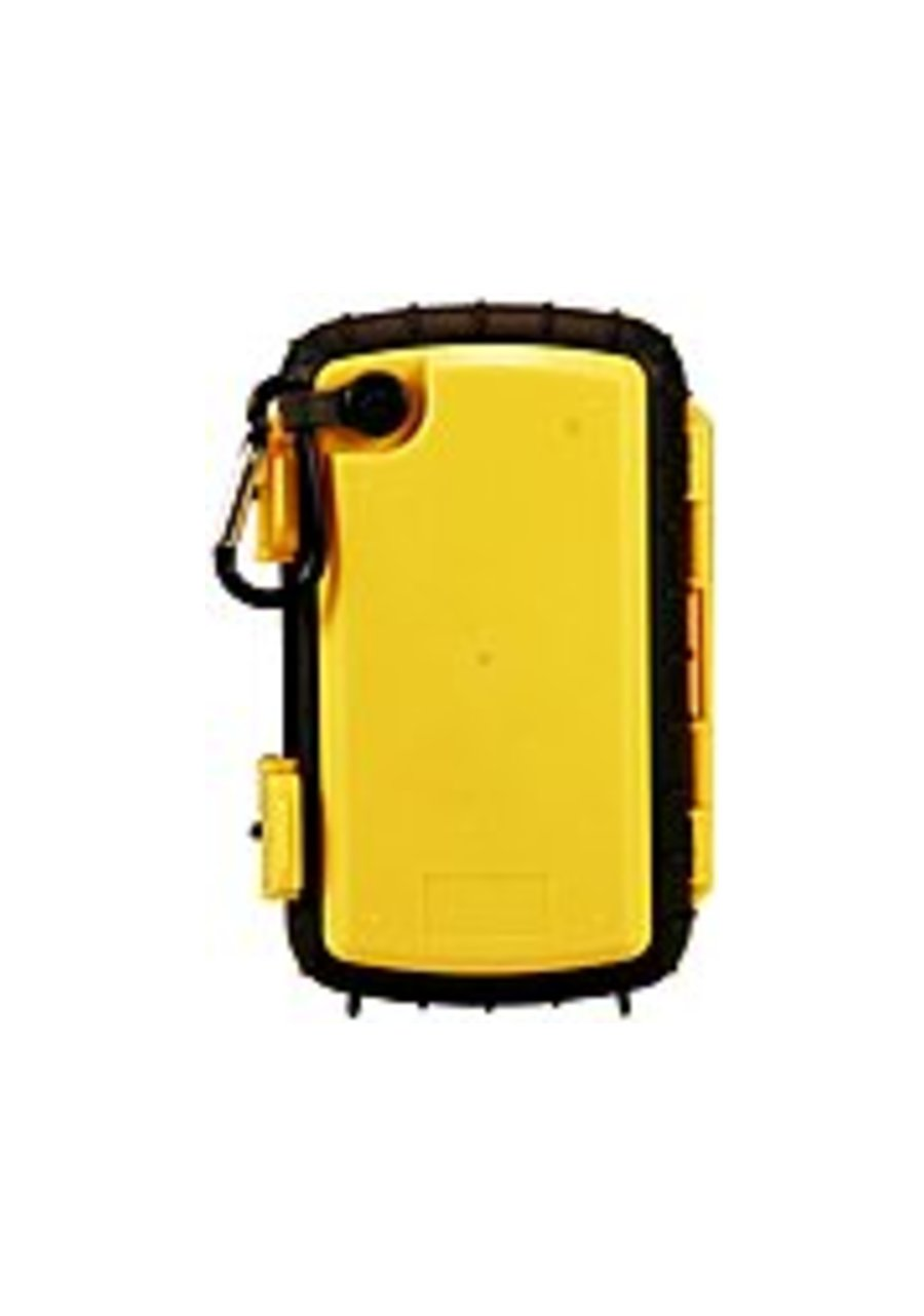 Grace Digital ECOXGEAR Eco Extreme GDI-AQCSE104 Rugged Waterproof Case with Built-in Speaker for Smartphones (Yellow) - Grace Digital ECOXGEAR Eco Ext