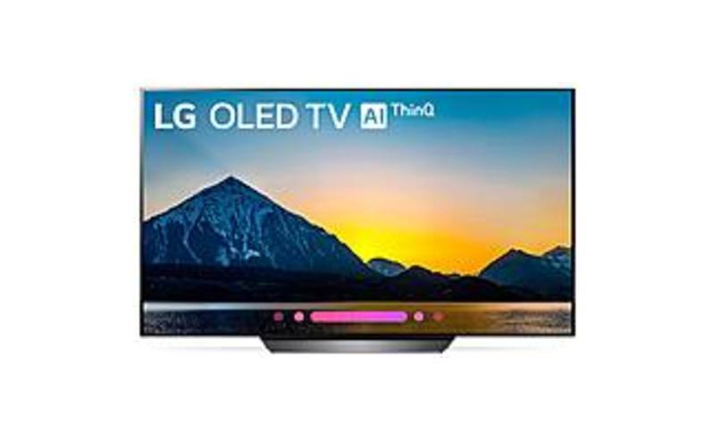 LG Electronics OLED55B8PUA 55-inch Class 4K HDR Smart OLED TV with AI ThinQ - 3840 x 2160 - HDMI, USB - Black