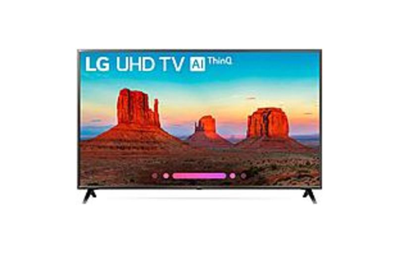 LG UK6300PUE 65UK6300PUE 65-inch 4K Ultra HD LED Smart TV - 3840 x 2160 - TruMotion 120 - DTS HD, ULTRA Surround - Wi-Fi - HDMI