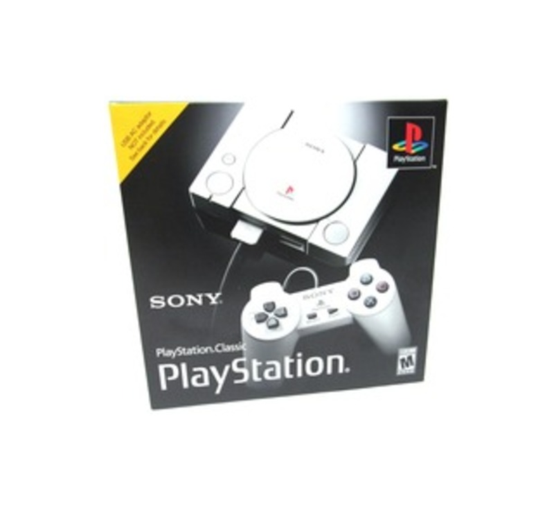 Sony 3003868 PlayStation Classic Console with 2x Controllers