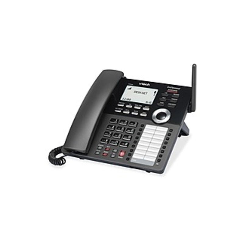 VTech ErisTerminal VSP608 IP Phone - DECT - Desktop - VoIP - Caller ID - Speakerphone - SIP Protocol(s)