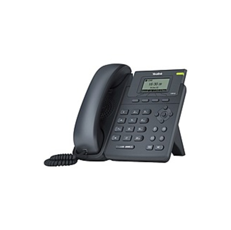 Yealink SIP-T19P E2 IP Phone - Desktop, Wall Mountable - 1 x Total Line - VoIP - Caller ID - Speakerphone - 2 x Network (RJ-45) - PoE Ports - SIP, SIP