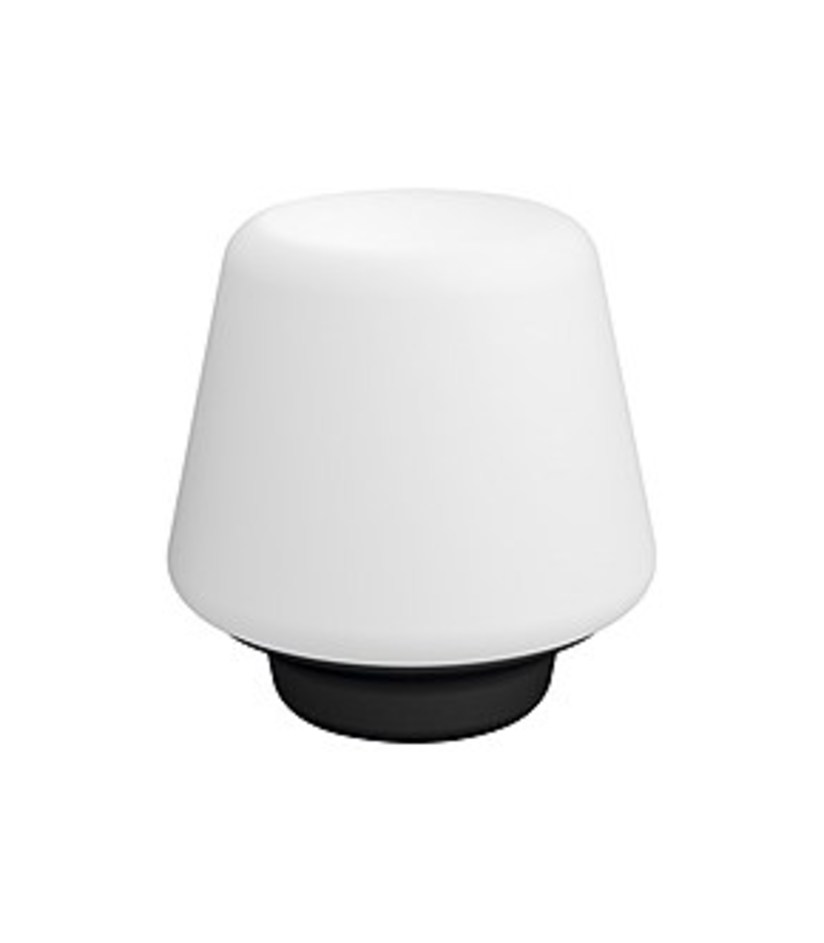 Philips 4100730U7 Hue White Wellness Dimmable Smart Table Lamp - Black