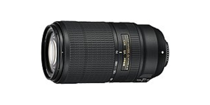 Nikon Nikkor - 70 mm to 300 mm - f/4.5 - 5.6 - Zoom Lens for Nikon FX - Designed for Camera - 67 mm Attachment - 0.25x Magnification - 4.3x Optical Zo