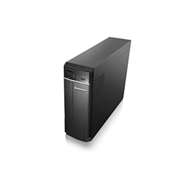 Lenovo H30-05 90BJ008AUS Desktop Computer - AMD E-Series E1-7010 1.50 GHz - 4 GB DDR3 SDRAM - 500 GB HDD - Windows 10 Home 64-bit (English) - Mini-tow