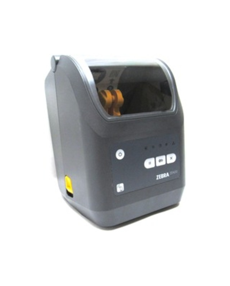 Zebra Technologies ZD42042-T01E00E ZD420 Monochrome Thermal Transfer Printer - 4-inch Print Width - 203 dpi - USB, Ethernet