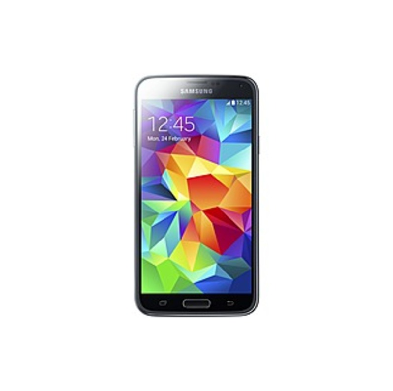 Samsung Galaxy S 5 4G Cell Phone Charcoal Black SM-G900A