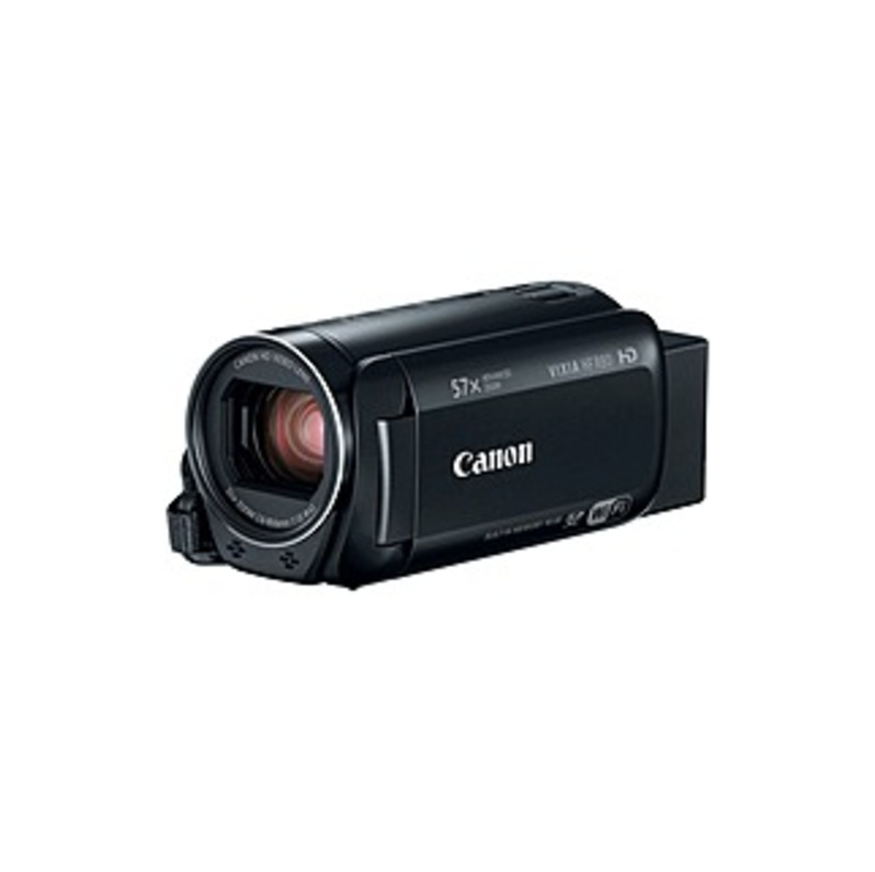 "Canon VIXIA HF R80 Digital Camcorder - 3"" - Touchscreen LCD - RGB CMOS - Full HD - 16:9 - 2.1 Megapixel Video - MP4, MPEG-4 - 32x Optical Zoom - 1140x"