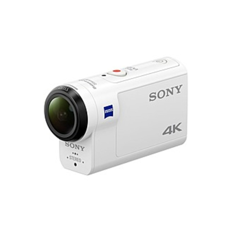 Sony X3000 4K Waterproof Action Camera with Remote White FDRX3000R/W