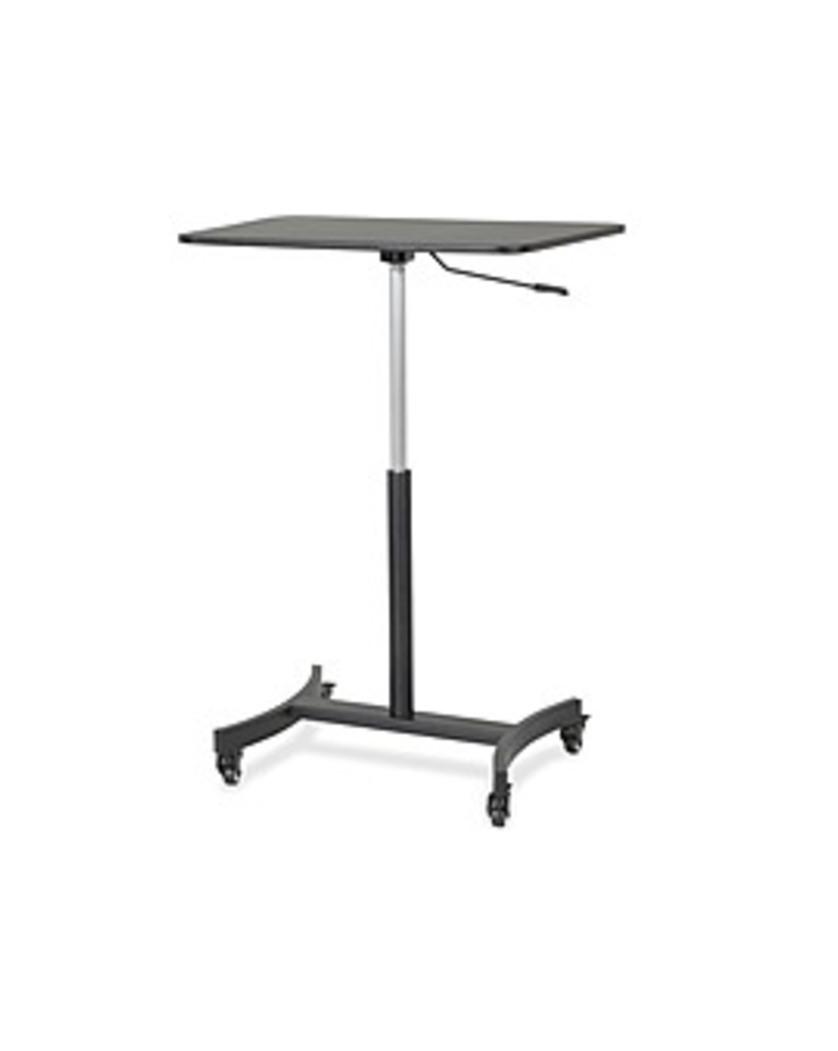 Victor VCTDC500 Mobile Adjustable Telescoping Standing Rectangle Desk