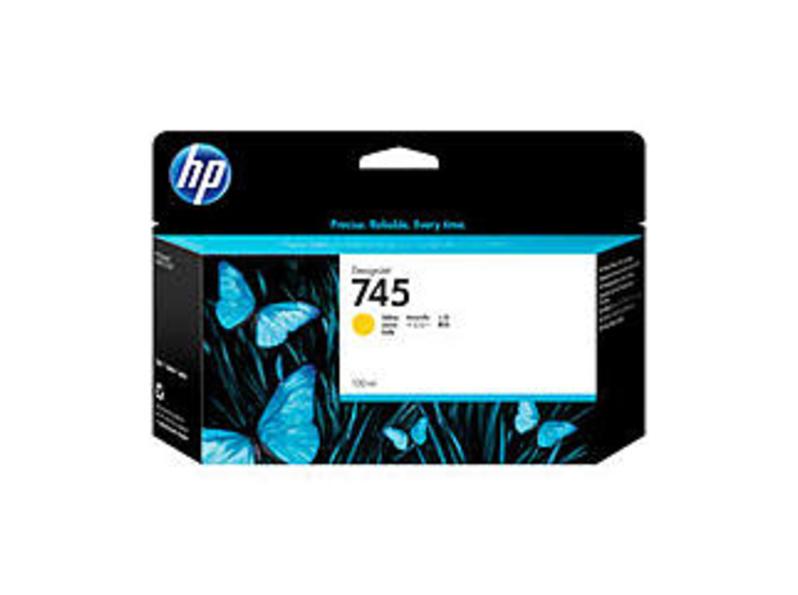 HP F9J96A 745 130-ML Ink Cartridge for Z2600 Printer - Yellow