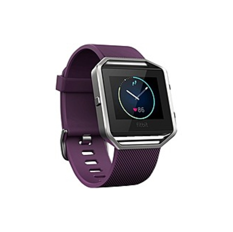 Fitbit Blaze Smart Watch - Wrist - Optical Heart Rate Sensor, Accelerometer, Altimeter, Ambient Light Sensor, Pedometer - Text Messaging, Silent Alarm