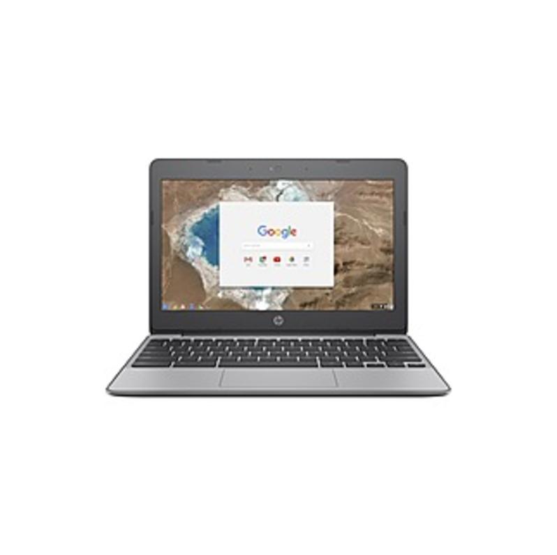 http://www.techforless.com - HP Chromebook 11-v000 11-v010nr 11.6″ Chromebook – 1366 x 768 – Celeron N3060 – 4 GB RAM – 16 GB Flash Memory – Anodized Silver – Chrome OS – Intel HD 155.97 USD