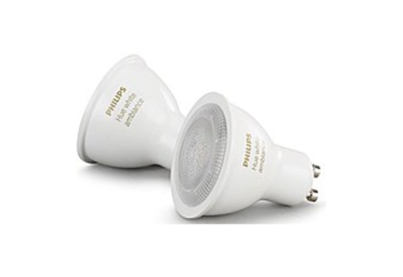 Philips Hue White Ambiance 5.5W LED Light Bulb (2-Pack) White 466490