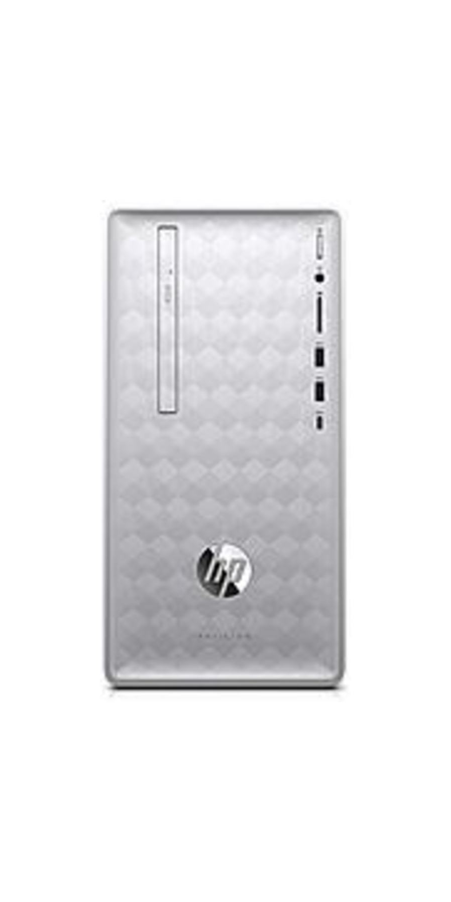 HP 3LA16AA PV90 Pavilion Desktop PC - Intel Core i5-8400 2.8 GHz Six-Core Processor - 8 GB DDR4 SDRAM - 1 TB Hard Drive - 16 GB Optane Memory - Window