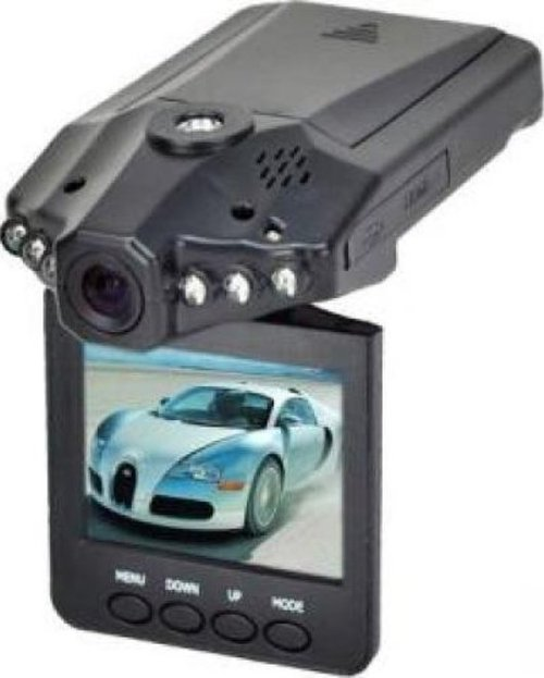 "Xtreme Cables Digital Camcorder - 2.4"" LCD - HD - Black - 16:9 - AVI - USB - SD, MultiMediaCard (MMC) - Memory Card - Dashboard Mount, Suction Mount"