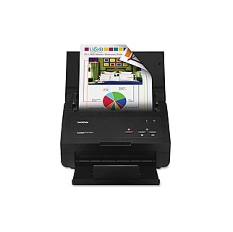 Brother ImageCenter Duplex Color Scanner Black ADS-2000E