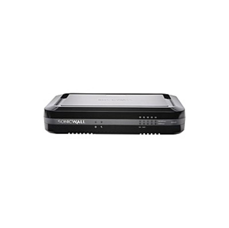 SONICWALL SOHO WIRELESS-N - 5 Port - 10/100/1000Base-T Gigabit Ethernet - DES, 3DES, MD5, SHA-1, AES (128-bit), AES (192-bit), AES (256-bit) - USB - 5