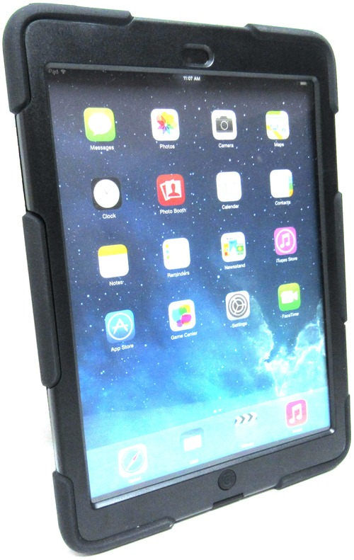Griffin Technology 11520292 GB36307-2 Survivor All-Terrain Case with Stand for iPad Air - Black (11520292_C2) photo