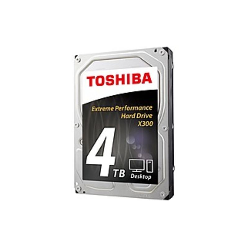 Toshiba 4TB Internal SATA Hard Drive for Desktops Black/Silver HDWE140XZSTA