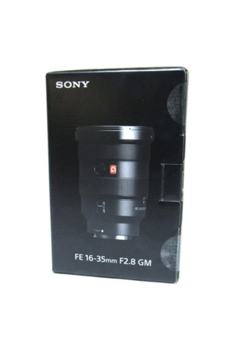 Sony G Master FE 16-35mm f/2.8 GM Wide Angle Zoom Lens for Sony E-mount Cameras Black SEL1635GM