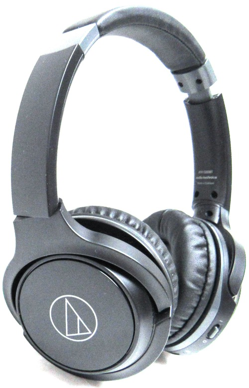 Audio-Technica ATH-S200BT Wireless On-Ear Headphones with Built-in Mic & Controls - Stereo - Black - Wireless - Bluetooth - 32 Ohm - 5 Hz - 32 kHz - O
