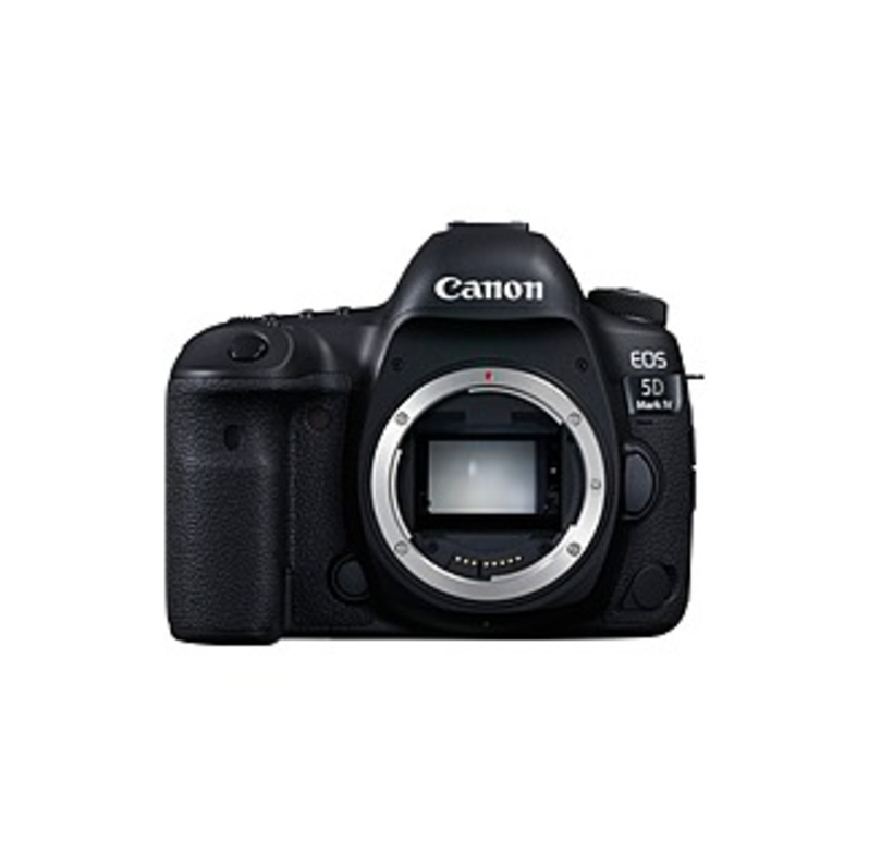 "Canon EOS 5D Mark IV 30.4 Megapixel Digital SLR Camera Body Only - Black - 3.2"" Touchscreen LCD - 6720 x 4480 Image - 4096 x 2160 Video - HD Movie Mod"