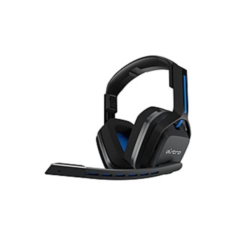 Astro A20 Wireless Headset - Stereo - Wireless - 20 Hz - 20 kHz - Over-the-head - Binaural - Circumaural - Blue/Black