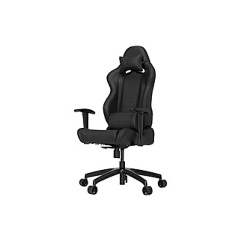 Vertagear Racing Series S-Line SL2000 Gaming Chair Black/Carbon Edition - Faux Leather Black, High Density Foam (HDF) Carbon Seat - Faux Leather Black