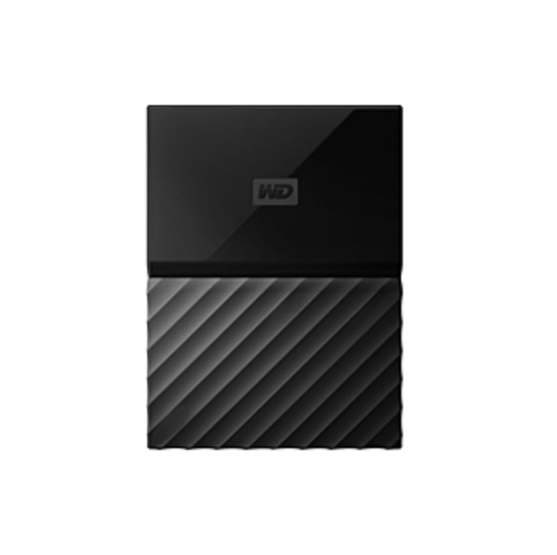 WD My Passport for Mac Portable WDBFKF0010BBK-WESE 1 TB Hard Drive - External - Portable - Black - USB 3.0 - 256-bit Encryption Standard