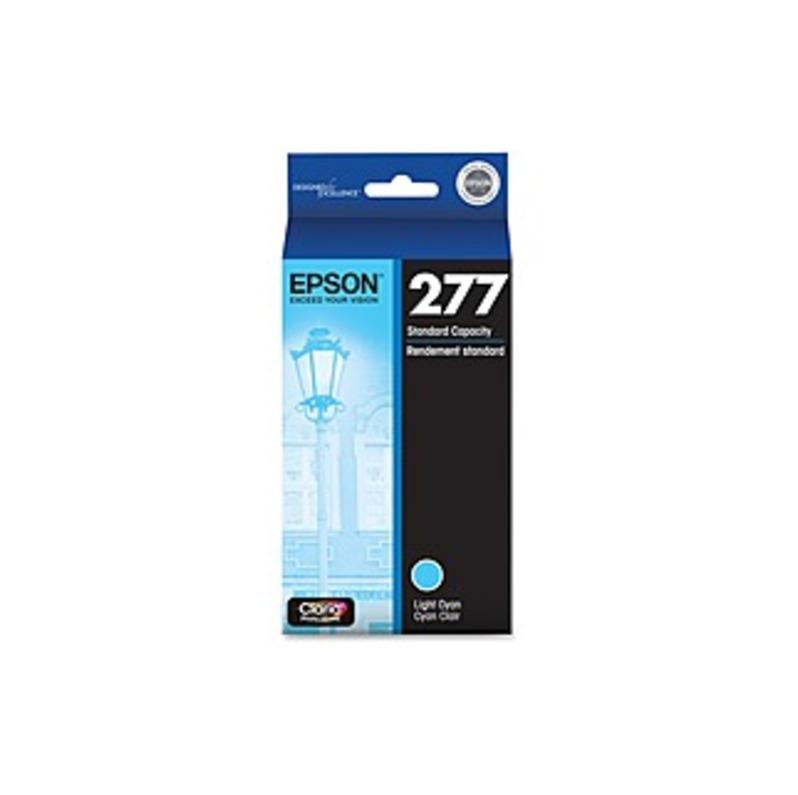 Epson 277 Ink Cartridge Light Cyan EPSONLT CYAN INK T277520-S