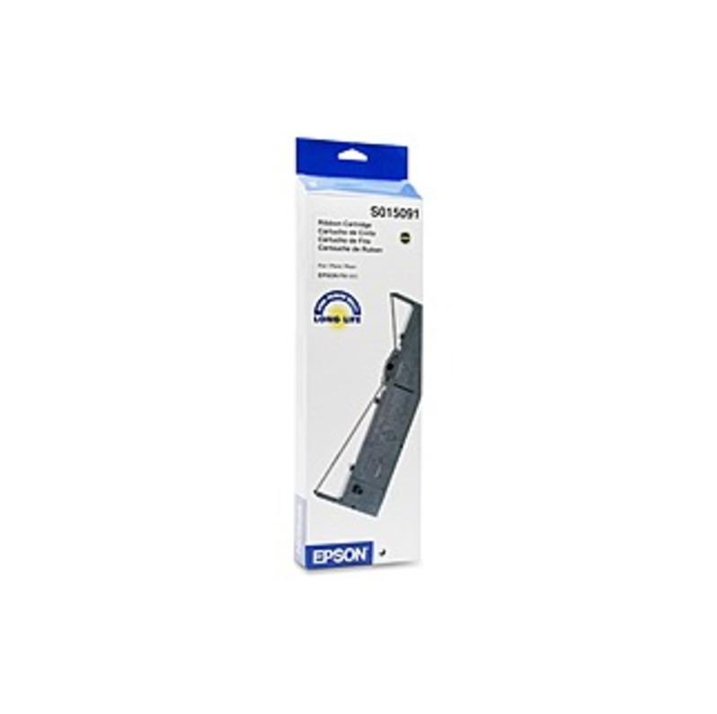 Epson Ribbon Cartridge - Dot Matrix - 7500000 Characters - Black - 1 Each