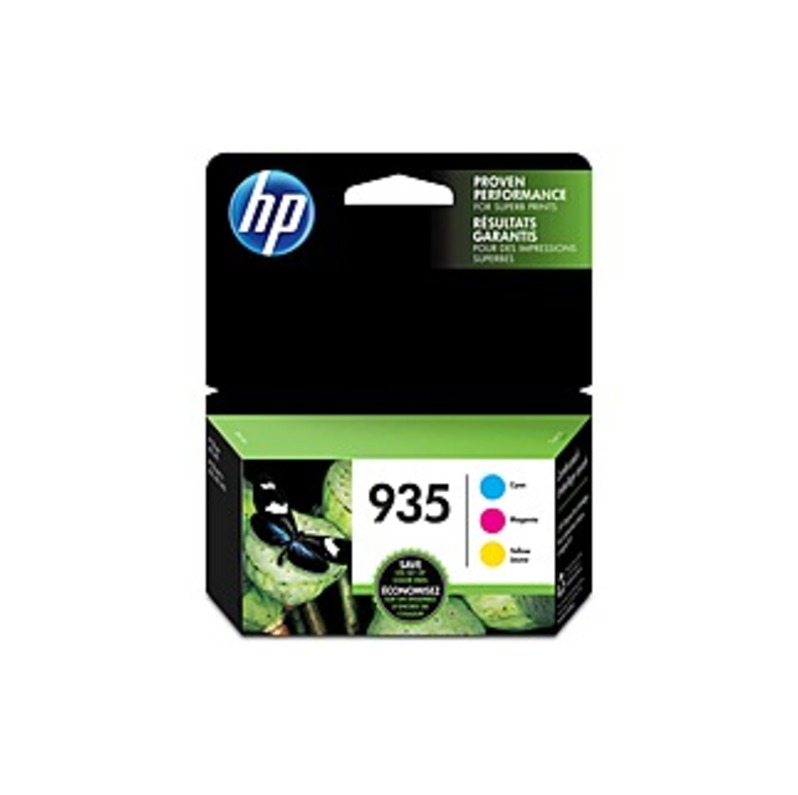 HP 935 Original Ink Cartridge - Inkjet - 400 Pages - Magenta, Yellow, Cyan - 3 / Pack