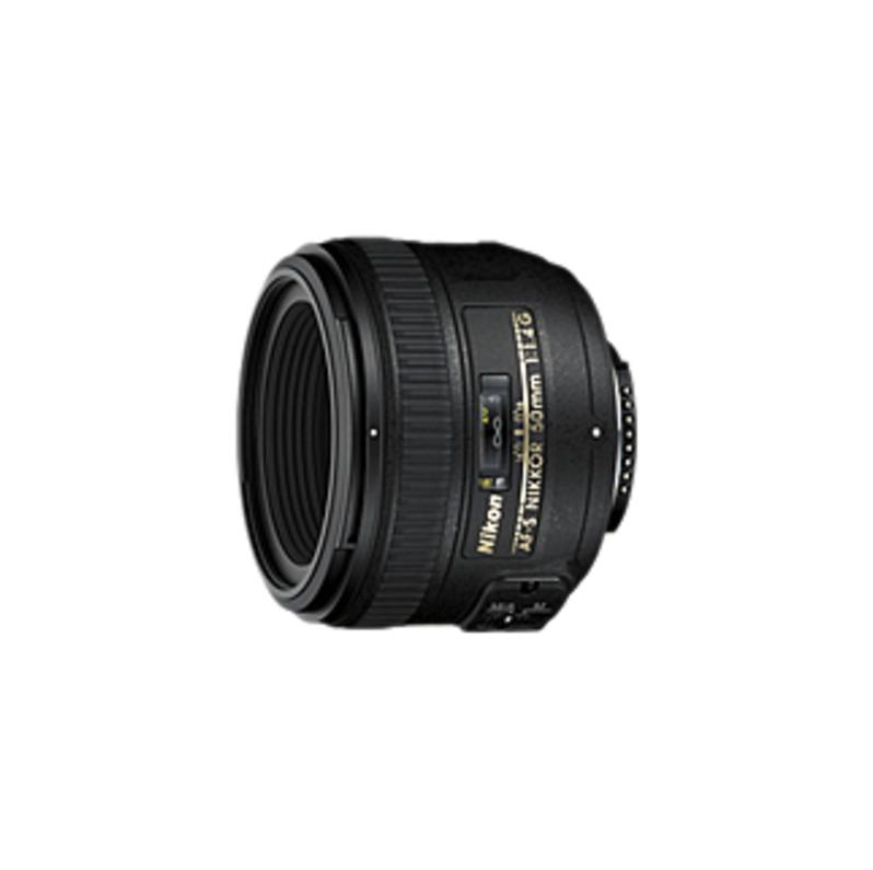 Nikon AF-S NIKKOR 50mm f/1.4G Standard Lens Black 2180