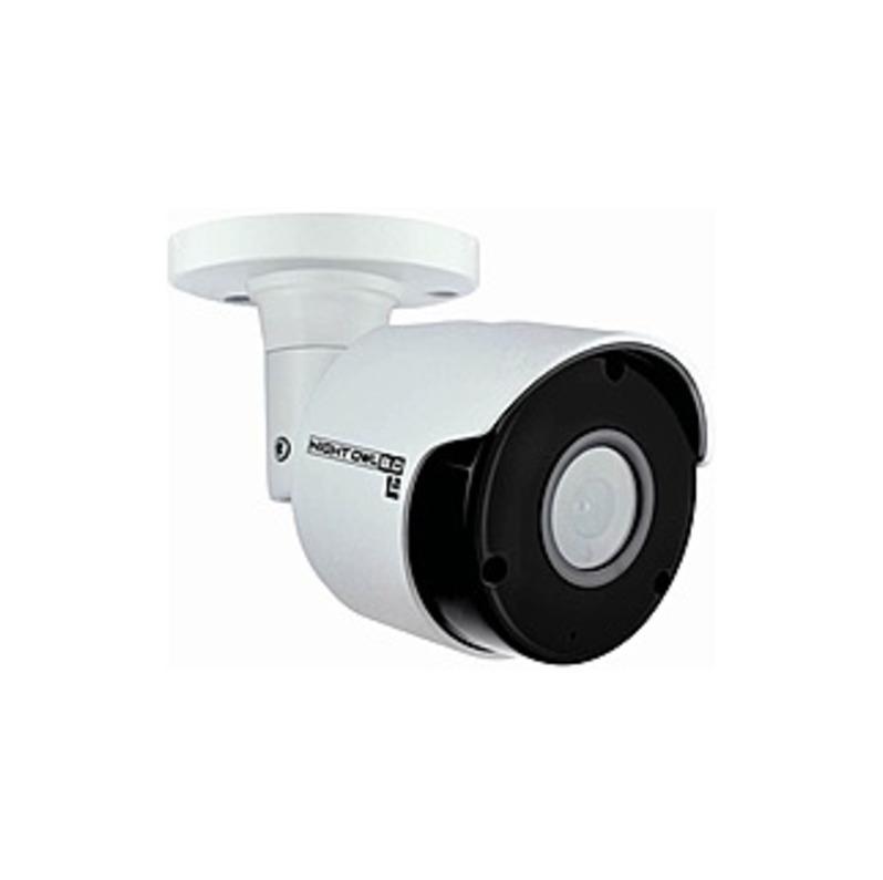Night Owl Indoor/Outdoor 2160p Wired Network Surveillance Camera Black/White CAM-IH8-BA