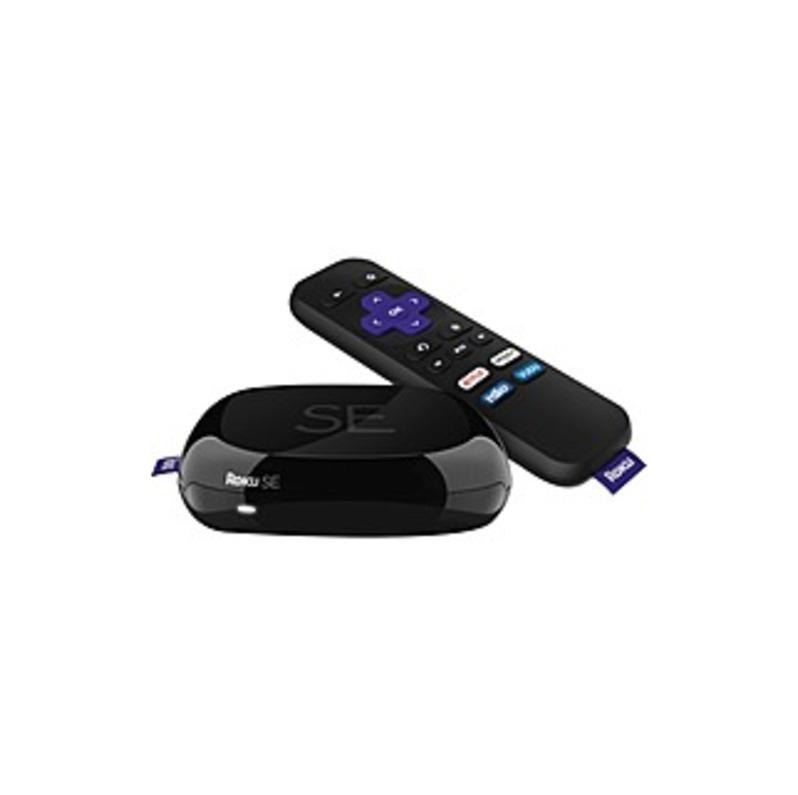 Roku 2710SE Network Audio/Video Player - Wireless LAN - Black - Dolby Digital, Dolby Digital Plus - WEP, WPA2, WPA - Netflix, Hulu, HBO Go, Amazon Ins