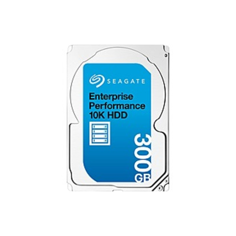 Seagate ST300MM0048SP Enterprise Performance 10K HDD 300GB Internal Serial Attached SCSI Hard Drive for Laptops Silver
