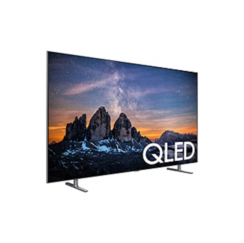 "Samsung Q80R QN55Q80RAF 54.6"" Smart LED-LCD TV - 4K UHDTV - Carbon Silver - Direct Full Array 8X Backlight - Bixby, Google Assistant, Alexa Supported"