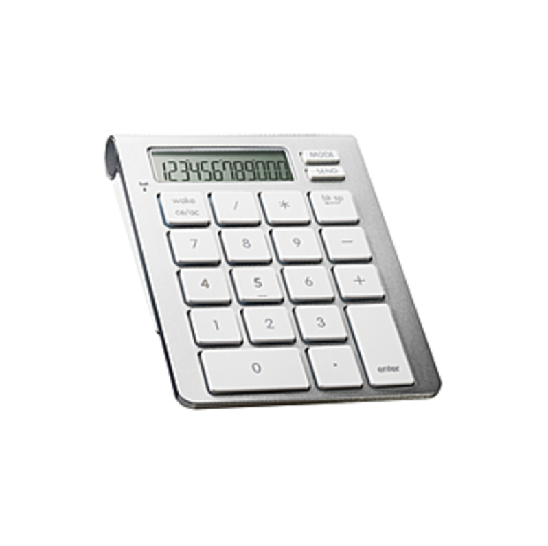 SMK-Link iCalc Bluetooth Calculator Keypad - Wireless Connectivity - Bluetooth - 33 ft - 10 Key - PC, Mac - AAA Battery Size Supported