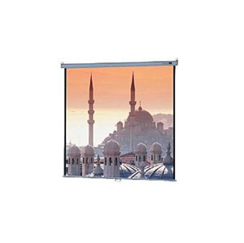 """Image of """"Da-Lite Model B Manual Wall and Ceiling Projection Screen - 50"""""""" x 67"""""""" - Matte White - 84"""""""" Diagonal"""""""