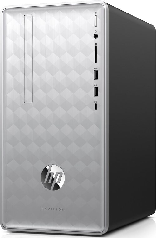 HP 3LC18AA Pavilion 590-p0016 Desktop PC - Intel Core i3-8100 3.6 GHz Quad-Core Processor - 8 GB DDR4 SDRAM - 1 TB Hard Drive / 16 GB Optane Memory -