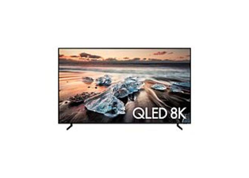 Samsung Q900R Series QN82Q900RBF 82 Inch QLED 8K Smart TV - 8K AI Upscaling - Bixby - Alexa - Google Assistant - Black